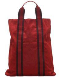 Hermès Fourre Tout Cabas - Rouge