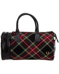 Fred Perry Travel duffle weekend shoulder bag - Noir