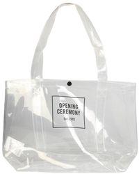 Opening Ceremony Medium Shopper Bag - Wit