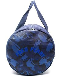 Fred Perry Cordura Bag Azul