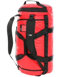 The North Face Base Camp Duffel Rojo