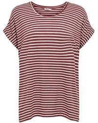 ONLY 15206243 Short Sleeve T-shirt - Rood
