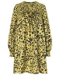 Munthe Rosita Dress - Giallo