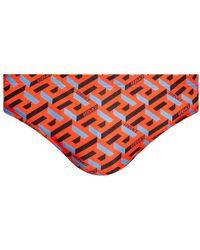 Versace Swim Shorts - Rood