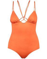 Jacquemus Le Maillot Pila Swimsuit - Oranje