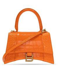 Balenciaga Hourglass Shoulder Bag - Oranje