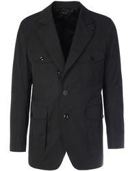 Tom Ford 4 Pockets Blazer - Zwart