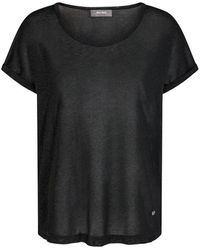 Mos Mosh T-shirt Kay - Noir