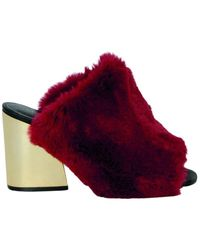 Silvian Heach Slippers Shoes Picton - Rouge