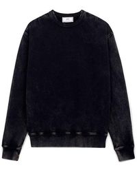 AMI Brushed Flanned Sweater - Zwart