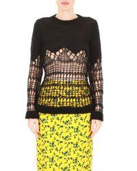 N°21 Wool Blend Pullover - Zwart