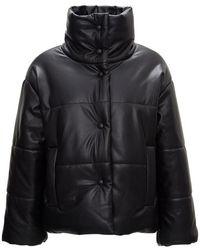 Nanushka Quilted Puffer Jacket - Zwart