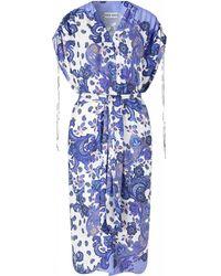 Ravn Maci Cover-up - Holiday Paisley Dress - Blauw