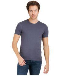 DRYKORN 520010 3200 Carlo T-shirt - Blauw