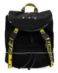 Off-White c/o Virgil Abloh Backpack With Logo - Zwart