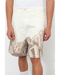 Formy Studio Le Belle Città Denim Shorts - Weiß