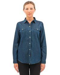 J Brand Shirt - Blauw