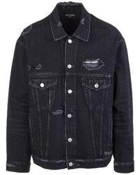 Balenciaga Denim Jacket - Zwart