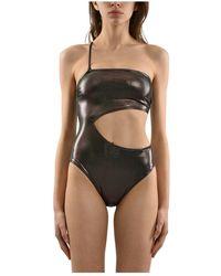 Calvin Klein Costume intero - Marrone