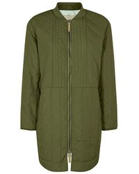 Mos Mosh Sila Quilted Coat - Groen