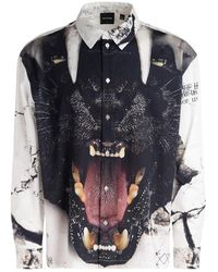 Daily Paper Camicia Panther - Zwart
