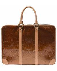 Louis Vuitton Tweedehands Tas - Bruin