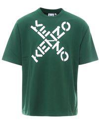 KENZO Fa65ts5024sj56 - Groen