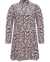 Ganni - Floral print dress - Lyst