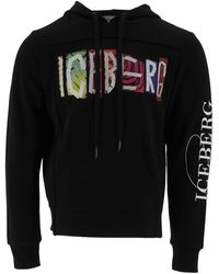 Iceberg Sweatshirt I1pe021 6311 9000 - Zwart