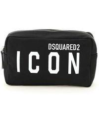 DSquared² Icon Beauty Case - Zwart