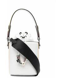 Karl Lagerfeld Bucket Bag - Wit