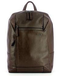 Piquadro Pc Backpack - Bruin