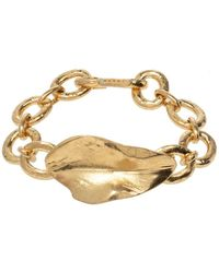 Marni Bracelet en laiton - Jaune