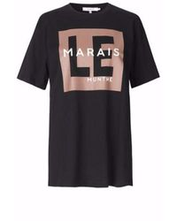 Munthe Sunrise T-shirt - Zwart