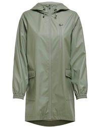 ONLY Onlemma Raincoat C - Groen