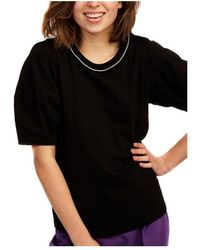 Naf Naf Camiseta - Zwart