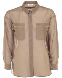 Peserico - Shirt - Lyst