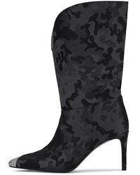 Custommade• Avalon Satin Boots - Grijs
