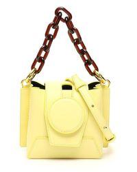 Yuzefi Daria mini bucket bag - Jaune