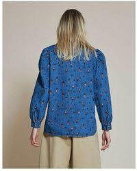 Stella Nova Reeta shirt Wild Cherry Azul