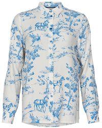 Numph Nuarzilla Shirt 7220017 3055 - Wit