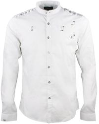 Alexandro Fratelli Chemise bandepau - Blanc