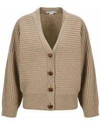 Stella McCartney Buttoned Cardigan - Naturel