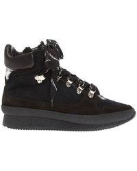 Isabel Marant 'brendta' High-top Sneakers - Zwart