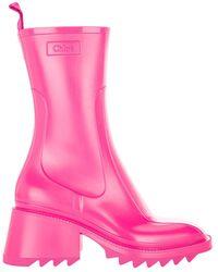 Chloé Shoes Closed Chc19w239g8 - Roze