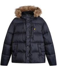 Lyle & Scott Winter Jacket - Zwart
