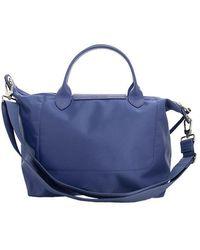 Longchamp LE Pliage NÉO TOP Handle BAG M Azul