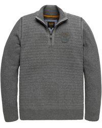 PME LEGEND Pullover - Grijs