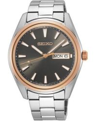 Seiko Watch Ur - Sur344p1 - Grijs