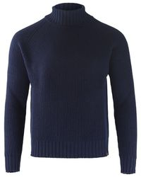 Belstaff Roll Neck sweater - Blu